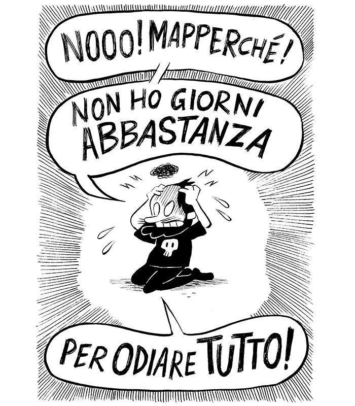 L'Odiario - Grrrz - Tuono Pettinato