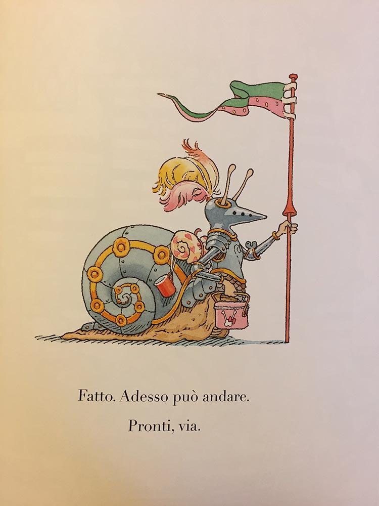 il cavaliere panciaterra - il castoro - bachelet