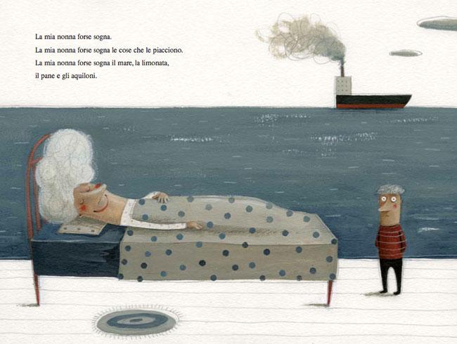 la nonna addormentata_parmeggiani_Vaz de Carvalho_kalandraka