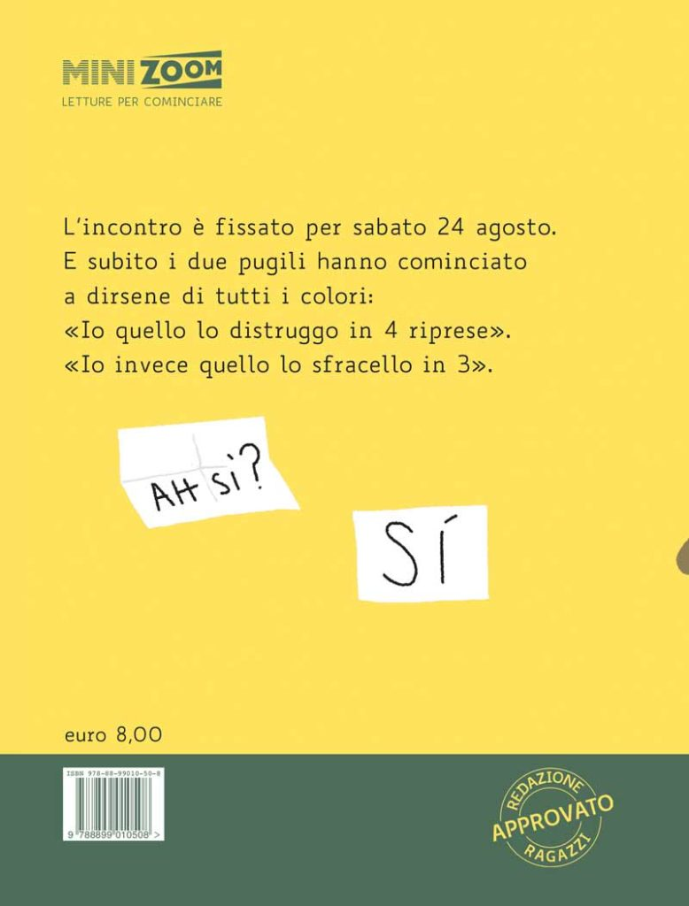 LA DIETA DEL PUGILE-Biancoenero-Calì-Castagnaro