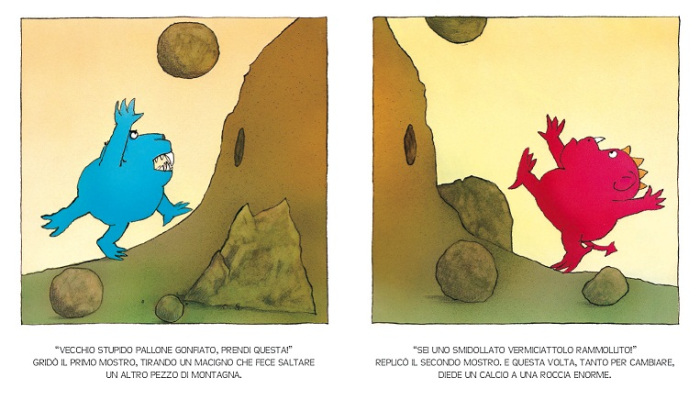 Due mostri di David McKee (Lapis)
